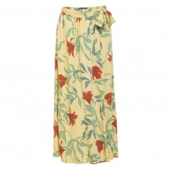 Greenbomb Blooming Lily (Noble/Midi Skirt) pastel yellow