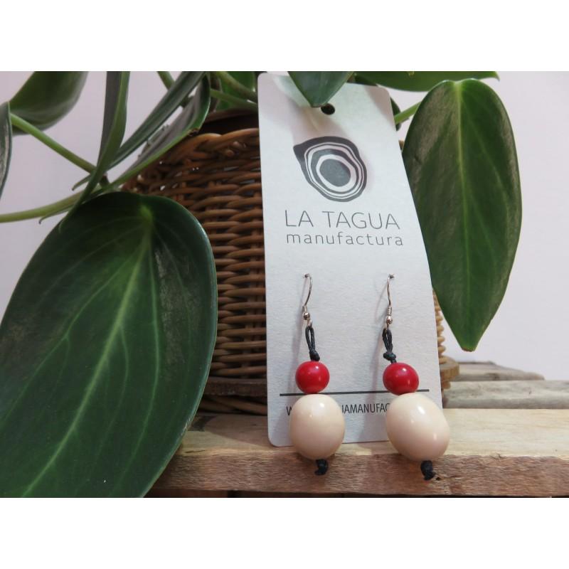 La Tagua Boliret earrings wit