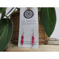 La Tagua Tahatiret  earrings roze