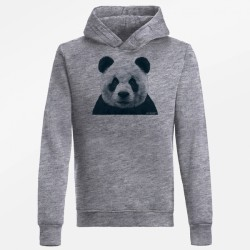 Greenbomb Animal Panda heather grey