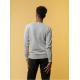 Melawear Men's Knit Pullover Grey melange