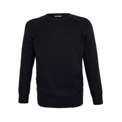 Melawear Men's Knit Pullover Black