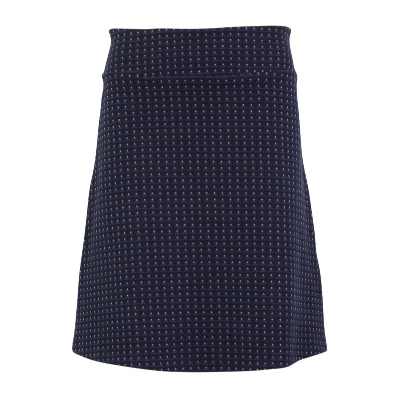 Froy en Dind Skirt Long Geo Pink Jacquard