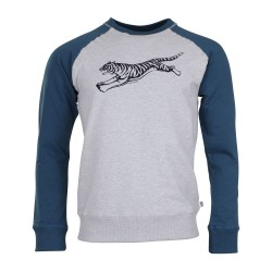 Munoman Sweater Bob Teal Tiger