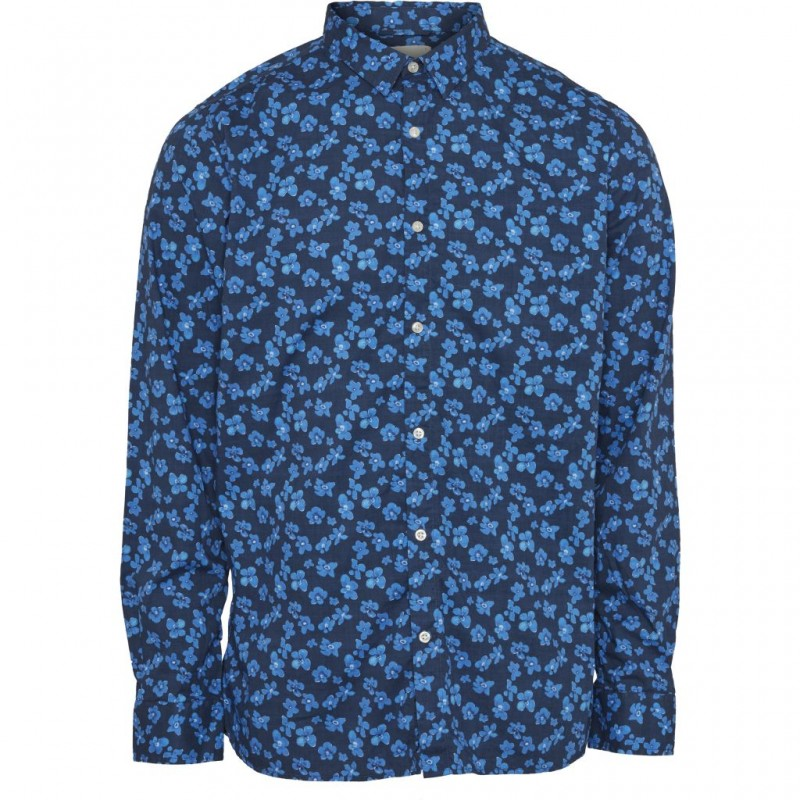 Knowledge Small Flower Shirt total eclipse
