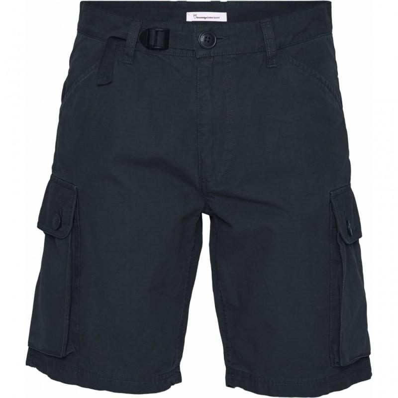 Knowledge Trek durable rib-stop shorts total eclipse