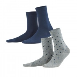 Living Crafts Bettina Night Blue Dots