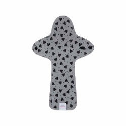 Ella's House Moon Pads Maxi Hearts Grey 1 pcs