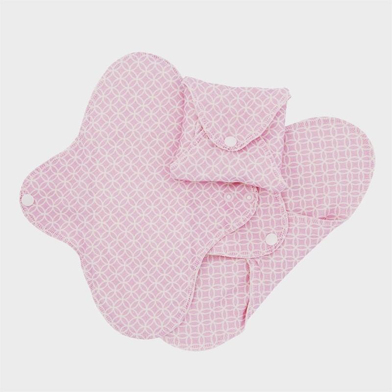 Imse Vimse Sanitary Pads Slim Regular Pink Halo