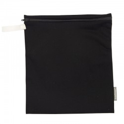 Imse Vimse Wet Bag 28x26cm With Zipper  Black