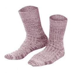 Living Crafts Norwegersocken Bordeaux Mouliné