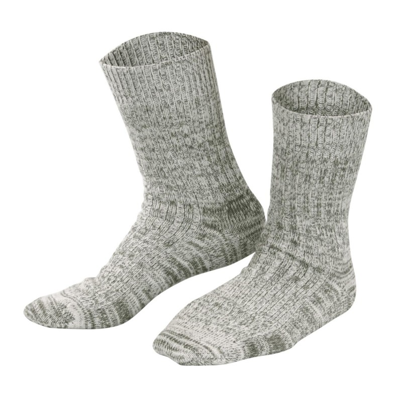 Living Crafts Norwegersocken Olive Mouliné