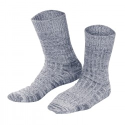 Living Crafts Norwegersocken Navy Mouliné