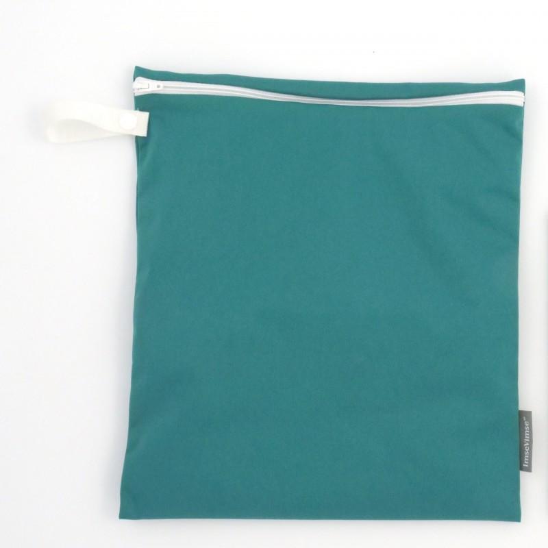 Imse Vimse Wet Bag 28x26cm With Zipper  lagoon