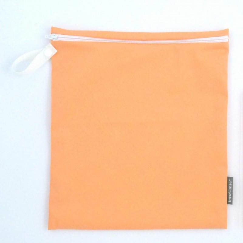 Imse Vimse Wet Bag 28x26cm With Zipper  peach