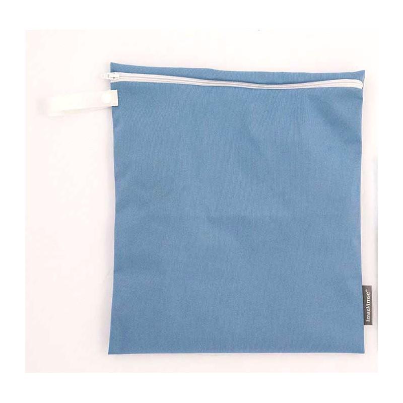 Imse Vimse Wet Bag 28x26cm With Zipper  denim