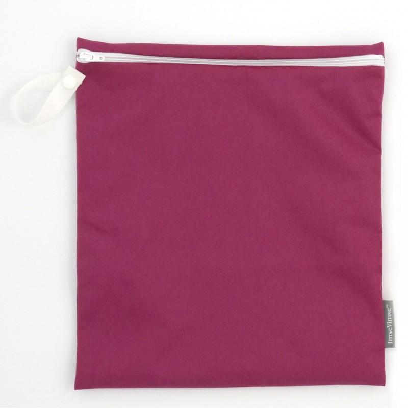 Imse Vimse Wet Bag 28x26cm With Zipper  sangria