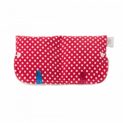 Ella's House Moon Pouch Red Dots